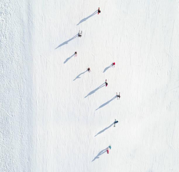Aerial view of skiers picture id653926324?b=1&k=6&m=653926324&s=612x612&w=0&h=tldc3vucl74erendjz8 qzbep13lmgqfztf9q3ft1jw=