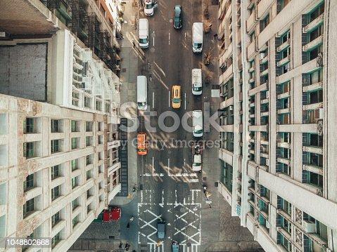 507831914 istock photo Aerial view of Soho,New York 1048802668