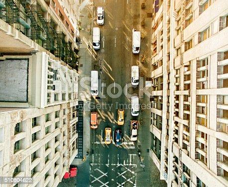507831914 istock photo Aerial view of Soho,New York 510804622