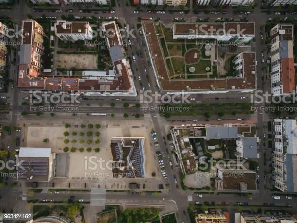 Widok Z Lotu Ptaka Na Ulice Nowoczesnego Miasta Europy Kijów Ukraina - zdjęcia stockowe i więcej obrazów Architektura