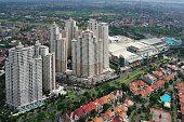 istock Aerial view of Surabaya city 475826114