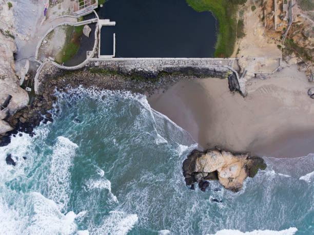 Aerial View of Sutro Bath Ruins