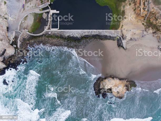 Photo of Aerial View of Sutro Bath Ruins