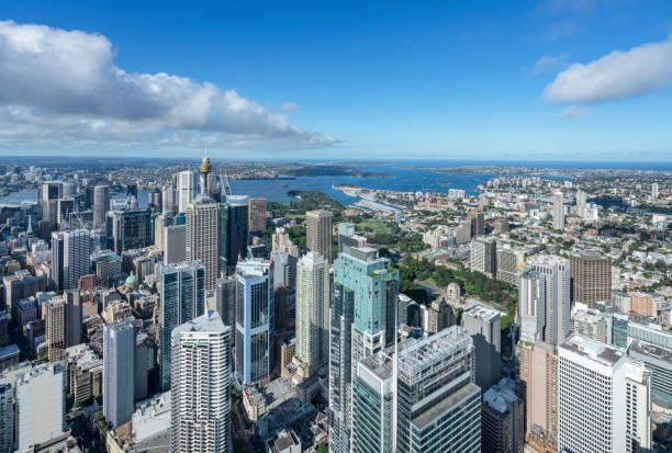 Luftaufnahme des Stadtbildes von Sydney – Foto