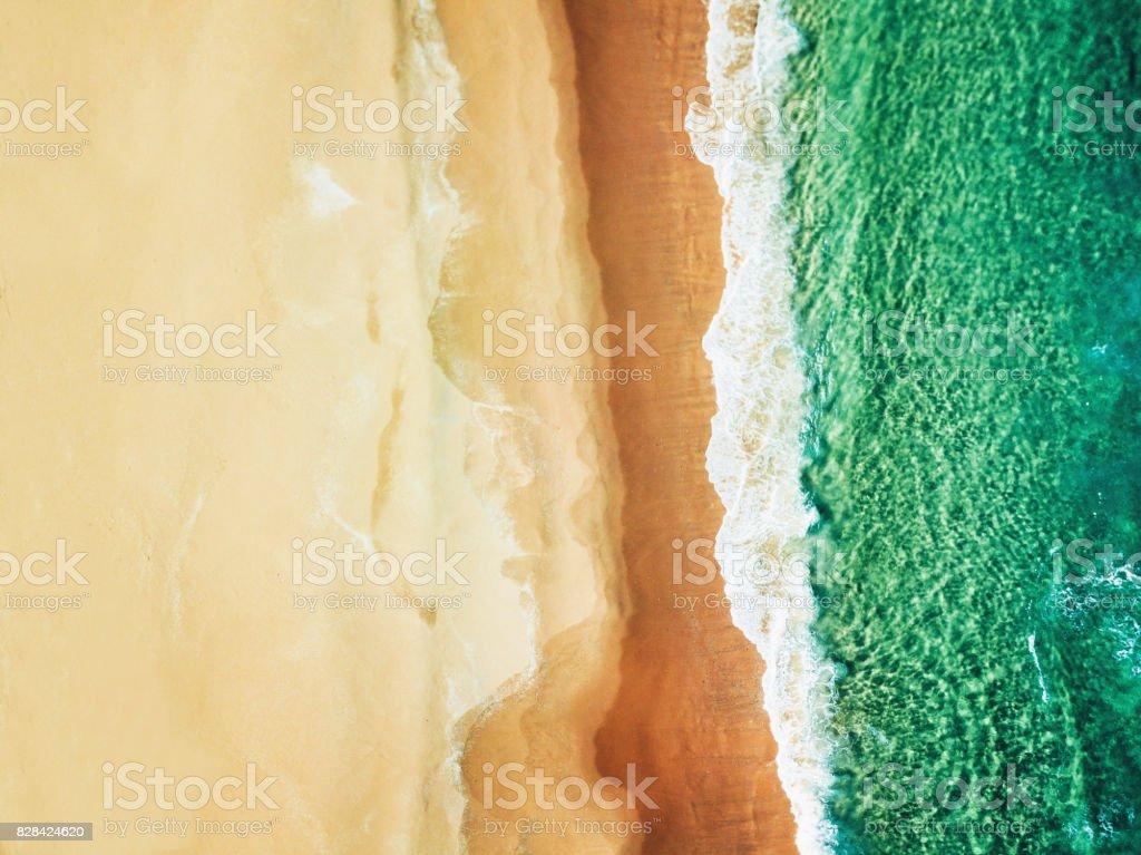 vue aérienne de la plage de bondi australien - Photo