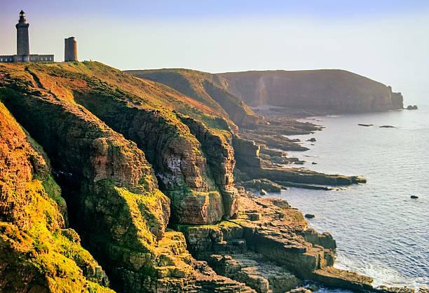 Vue aérienne de la côte de Bretagne - Photo