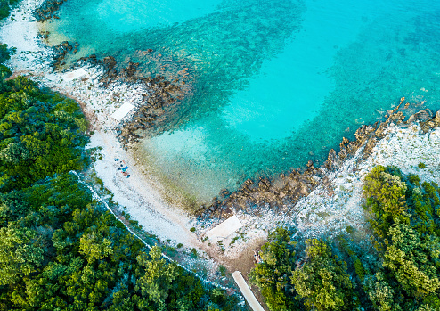 istock Aerial view of the coastline 1170495627