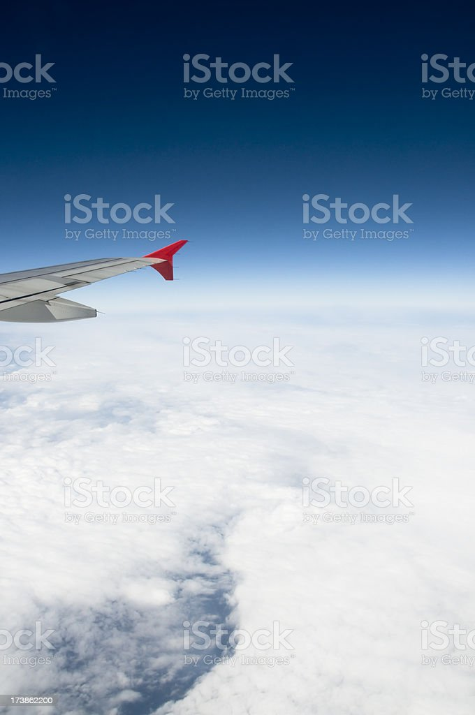 Aerial View Of The Earth royalty-free stock photo
