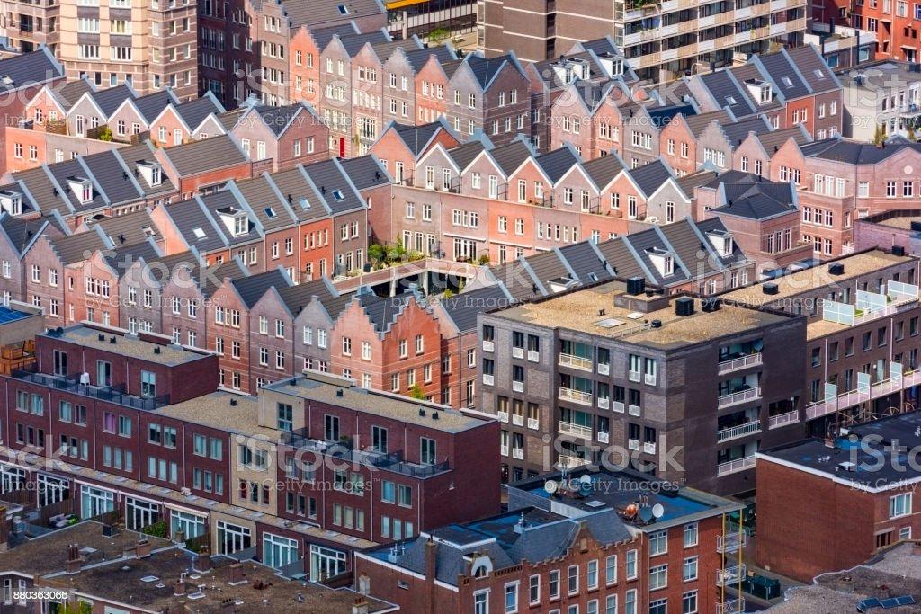 Luftaufnahme von den Haag, Stadtbild, Niederlande – Foto