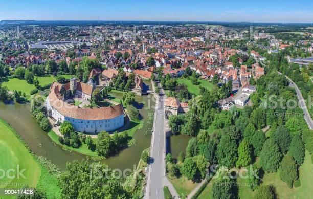 Luftbild Von Der Historischen Stadt Steinfurt Stockfoto und mehr Bilder von Deutschland