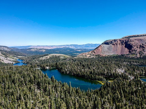 istock Aerial view of the Mammoth Lake - California 1055206640