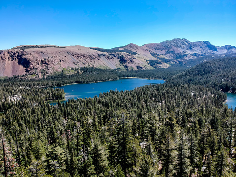 istock Aerial view of the Mammoth Lake - California 1055206674