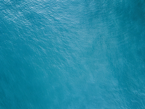 Aerial view of the ocean surface