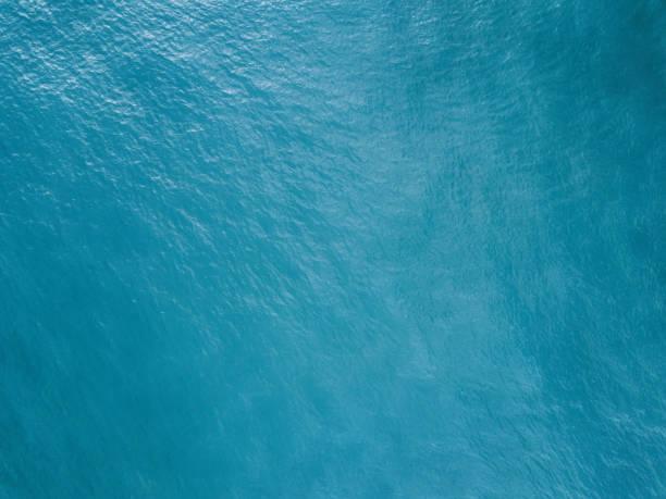 바다 표면의 공중 보기 - 물 뉴스 사진 이미지