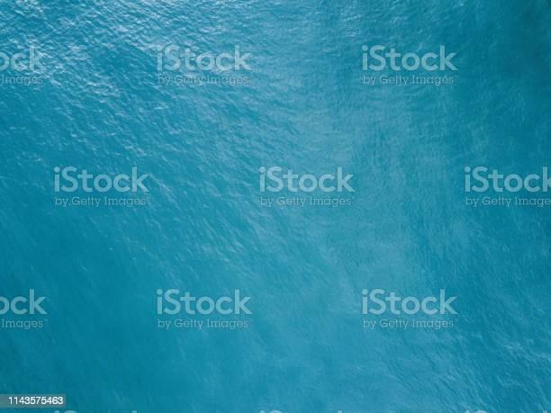 Photo of Aerial view of the ocean surface