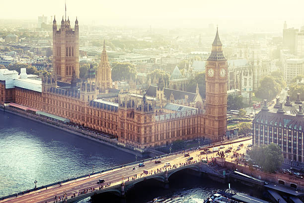 Palace of Westminster, London, Großbritannien – Foto