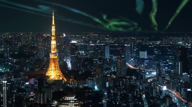 Luftaufnahme des Tokyo Tower – Foto
