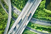 City, Highway, Traffic, Overpass, Mode of Transport