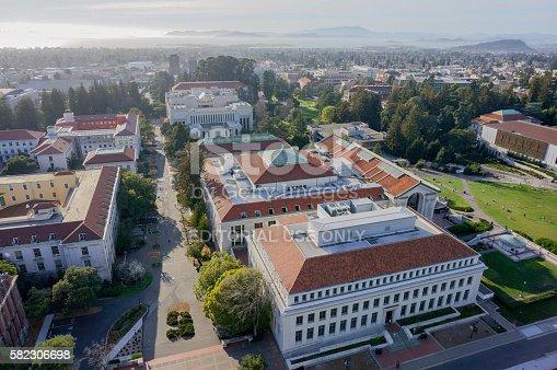 istock Aerial View of UC Berkeley Campus Buildings 582306698