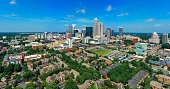istock Aerial view of Uptown Downtown Charlotte North Carolina 1220374629