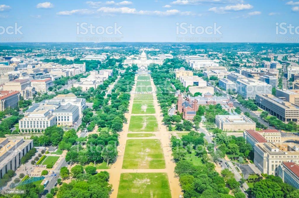 アメリカワシントン Dc の航空写真 - アメリカ合衆国のストックフォト ...
