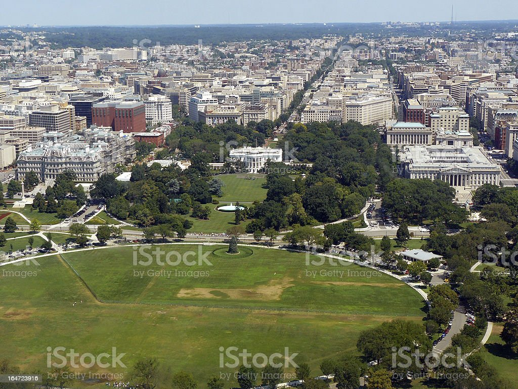 Super Aerial View Of White House And Vicinity Stock Photo Download Free Architecture Designs Scobabritishbridgeorg