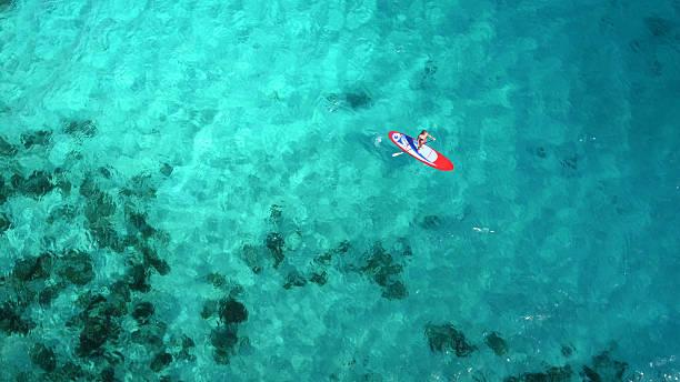 Aerial view of woman on paddleboard picture id544966382?b=1&k=6&m=544966382&s=612x612&w=0&h=itnmuu6qru6ewdpl gciwawfftu0qtsk7u5utytuskw=