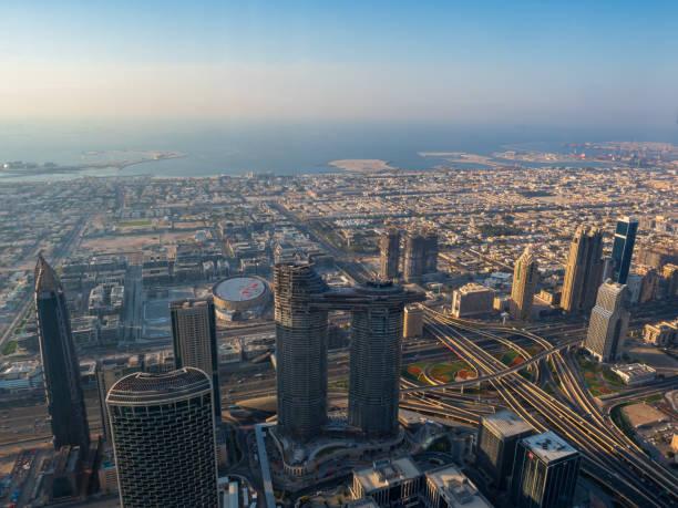 Luftaufnahme auf Dubai – Foto