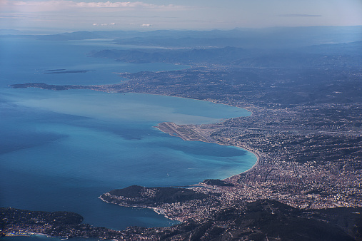 Aerial view on Nice France