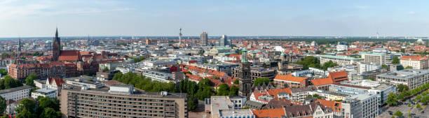 Blick auf das Zentrum von Hannover, Deutschland – Foto