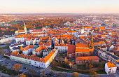 istock Aerial view on the city Kalisz. Poland 1278732259