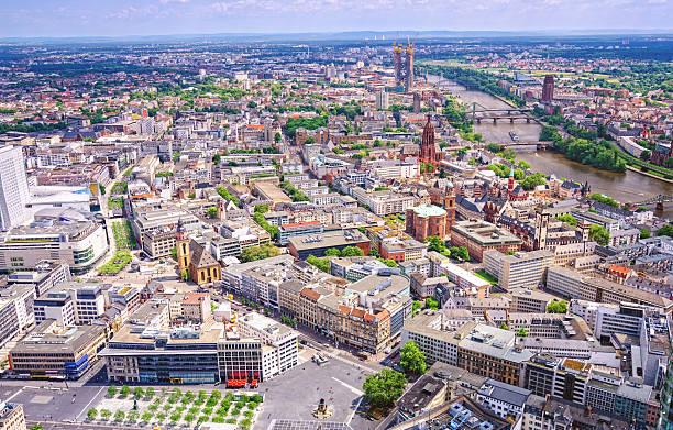주저우 공중 뷰 over - 브란덴부르크 주 뉴스 사진 이미지