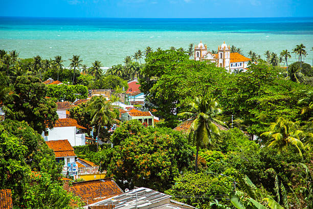 vista aérea mais de olinda - recife e olinda - fotografias e filmes do acervo