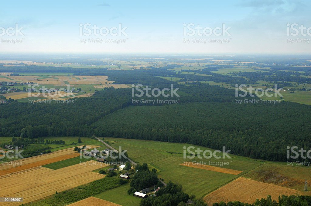 Aerial View #2 royalty-free stock photo