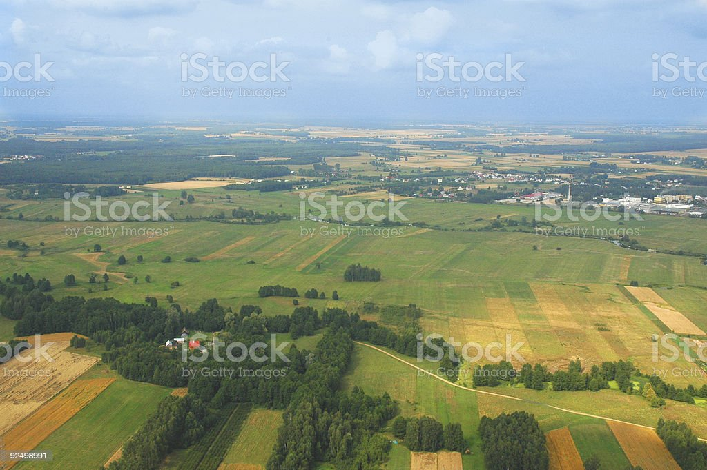 Aerial View #4 royalty-free stock photo