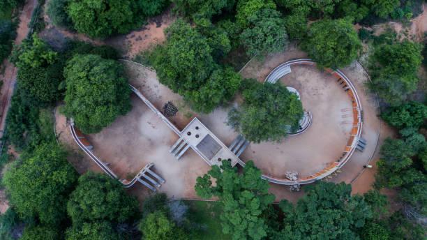 zona de juegos vista aérea - maracaibo fotografías e imágenes de stock