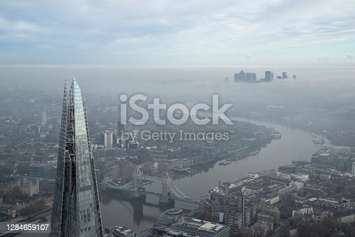 istock Aerial Views Of London, England 1284659107