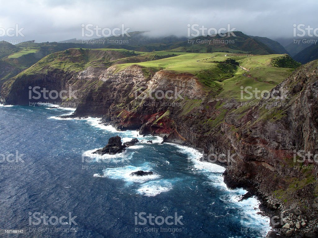 Aerial What A View royalty-free stock photo
