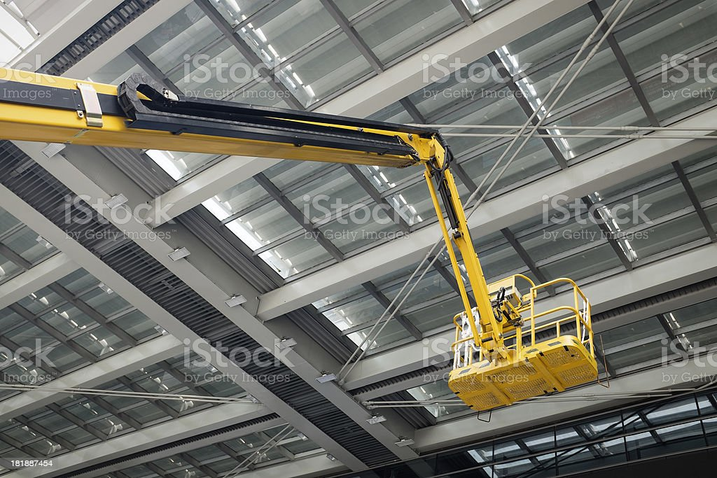 Aerial work platform stock photo