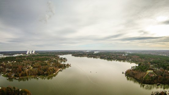 istock aerialview over lake wylie south carolina 502934036