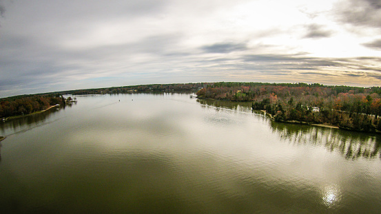istock aerialview over lake wylie south carolina 520005068