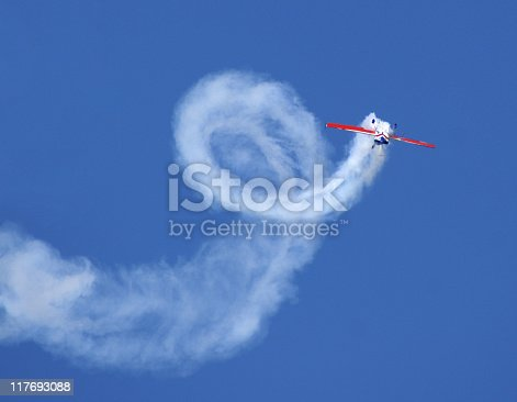 istock aerobatic stunt Extra 300 airplane 117693088