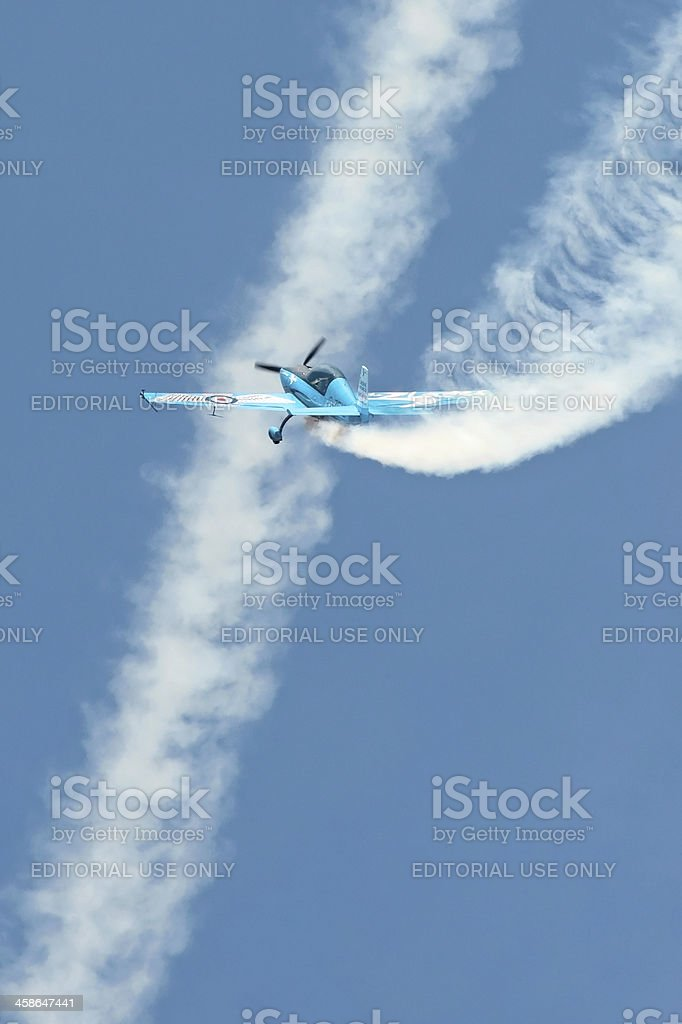 aerobatics royalty-free stock photo