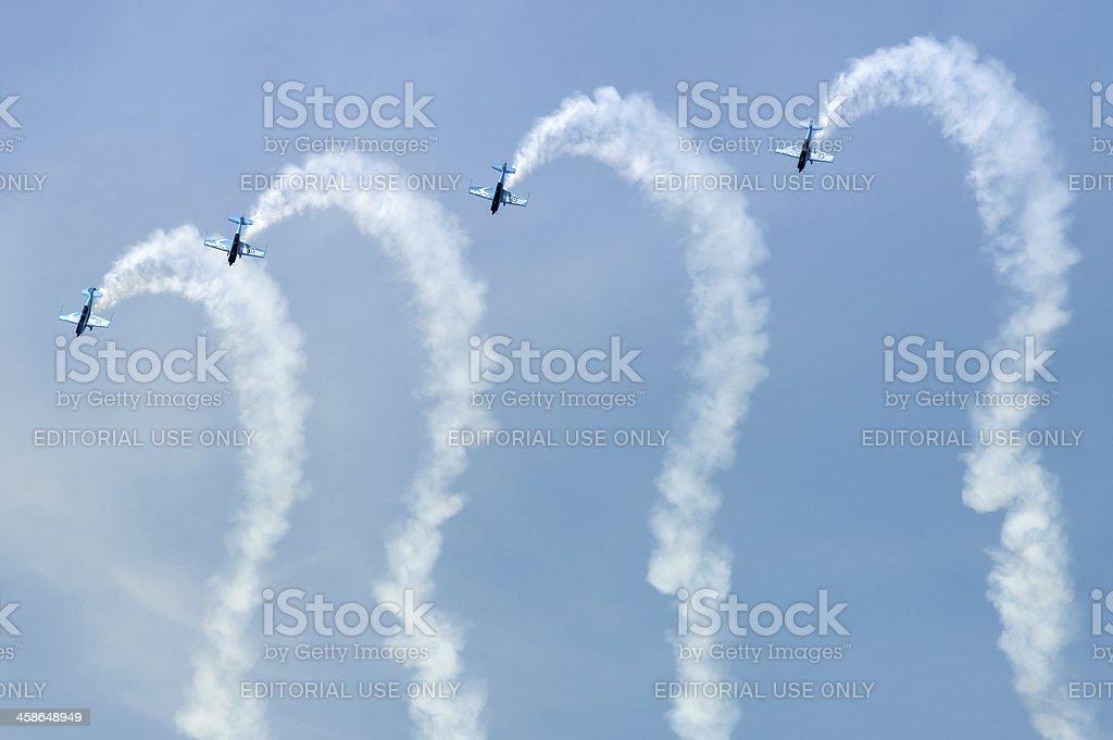 aerobatics royalty-free stock photo
