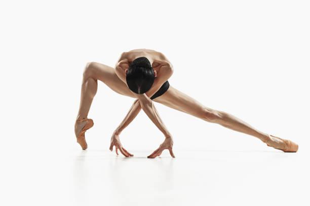 健美操健身婦女全身獨立運動 - 彈性 個照片及圖片檔
