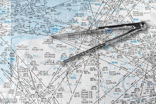 Aeronautical Navigationstabelle Stockfoto und mehr Bilder von Dokument