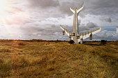 istock Aeroplane monoment 492803680