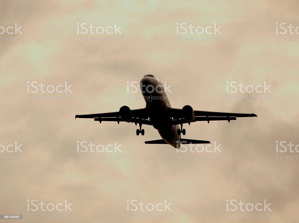 Avión foto de stock libre de derechos