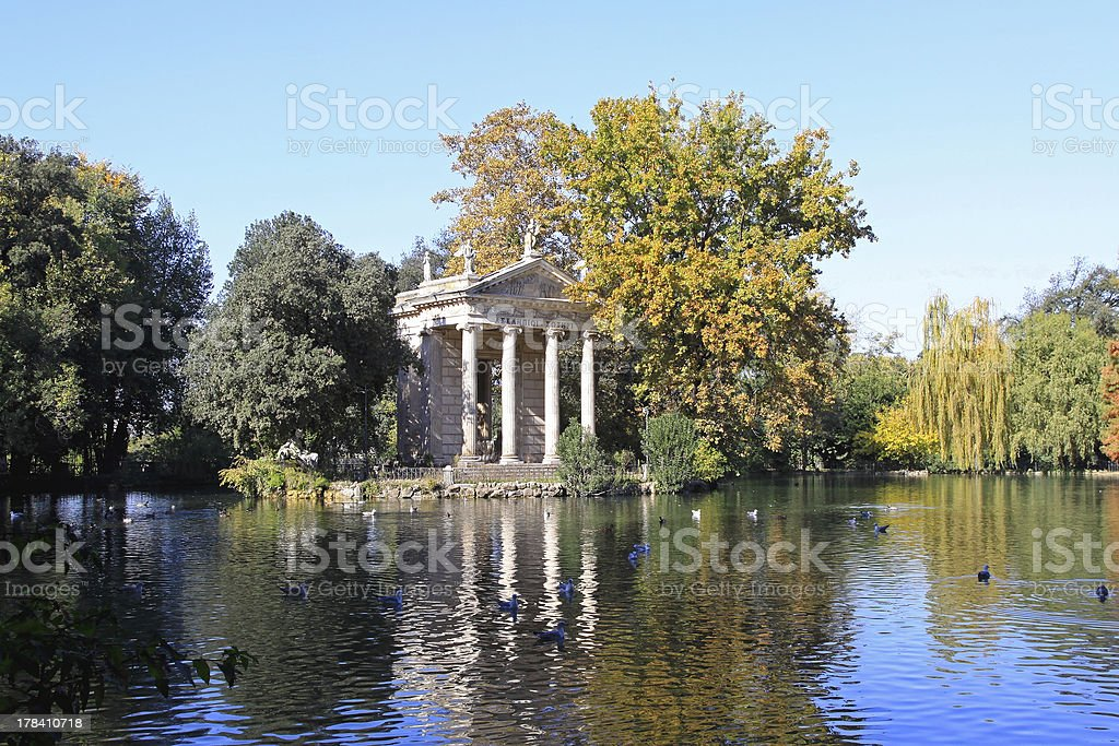 Aesculapius Temple royalty-free stock photo