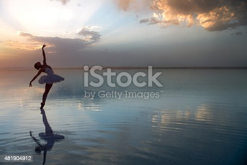 Salt Lake in Dance Concept - Turkey